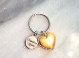 Christian bible verse scripture charm keyring keychain in Canada