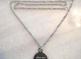 Christian bible verse scripture pendant necklace in Canada