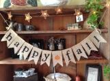 Happy Fall Banner, Fall Bunting, Autumn Garland, Pumpkin Banner, Autumn Bunting, Fall Bunting, Autumn Wedding Decor