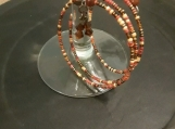Memory wire fall colored bracelet