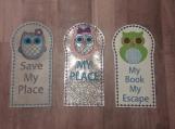 Owl Bookmark Set of 3