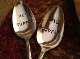 Stamped Spoon Wedding Gift