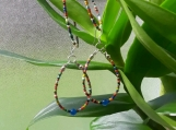 Tribal bead memory wire set
