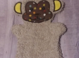 Bath Buddy, Brown Monkey