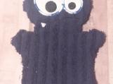 Bath Buddy Puppet, Blue Monster