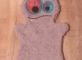 Bath Buddy Puppet, Light Purple Monster