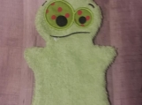 Bath Buddy Puppet, Lime Monster