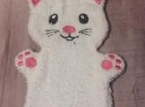 Bath Buddy, White Kitten