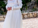 Handmade Cream Renaissance Dress And Blouse - Free Shipping