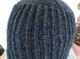 Knitted Men's Black Watch Beanie Hat - Free Shipping