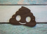 Poop, Child's Mask, Pretend Play, Imagination, Dress Up, Halloween Costume, Easter Basket, Photo Booth Prop, Cosplay,