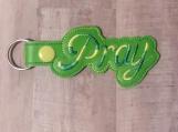 Pray, green