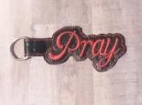 Pray, red