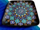 Wall decor | Mandala | Birthday | Decorative plate | Ceramic art