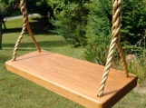 Wood Tree Swings-2018 Cherry Thick Solid-w/ 11ft of rope
