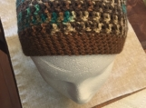 Crochet Men's Hat/Beanie (includes a free gift)