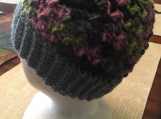 Crochet Messy Bun Hat (includes a free gift)