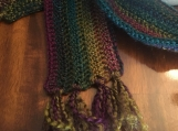 Crochet Scarf (includes a free gift)