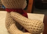 Crochet Teddy Bear (includes a free gift)