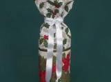 Festive Bottle Sleeve White w/ band