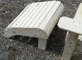 Footstool, white pine