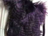 """Fur Bag"", Cross Body Bag"