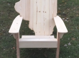 Illinois Adirondack Chair
