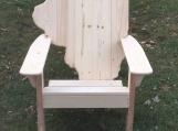 Illinois Adirondack Chair