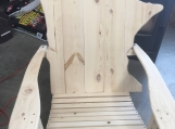 Minnesota Adirondack Chair white pine