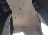 Missouri Adirondack Chair white pine