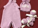 Personalized Newborn Baby set