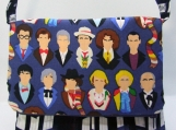 pre-holiday sale-Doctor Who purse, twelve doctors and the TARDIS