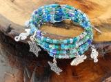 Sea Life Memory Wire Bracelet