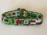 Seed Bead Bracelet Hand Woven