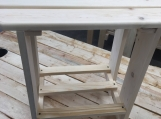 White Pine Outdoor Adirondack Side Table