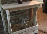White Pine Rack Table