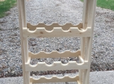 White Pine Wine Rack
