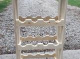 White Pine Wine Rack