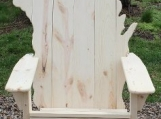 Wisconsin Adirondack Chair, white pine
