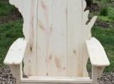 Wisconsin Adirondack Chair, white pine