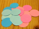 Baby Shower confetti, Gender Reveal Table confetti