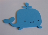 Blue Whale Die Cuts