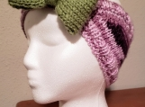 Bow Headband and Ear Warmer
