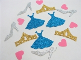 Cinderella inspired party confetti