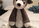Crochet Husky Dog