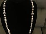 Cute Marble Necklace & Bracelet