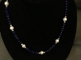 Cute Navy Blue Necklace
