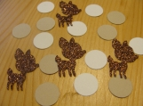 Deer Fawn Die cuts,Scrapbooking Die Cuts