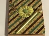 Green Flower Journal Set