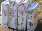 Greeting Card Keepsake Book, your cards hand-bound into a book